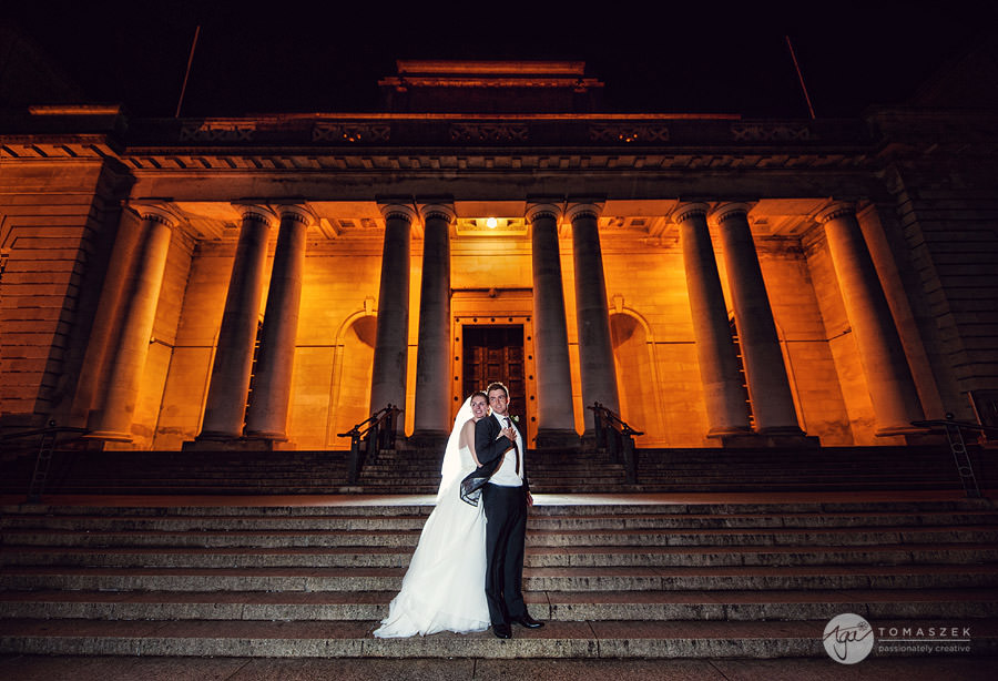 wedding photographer @ Cardiff Museum – Ceri and James teaser